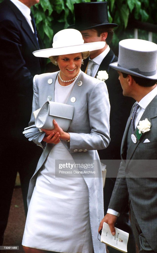 Diana At Ascot : News Photo