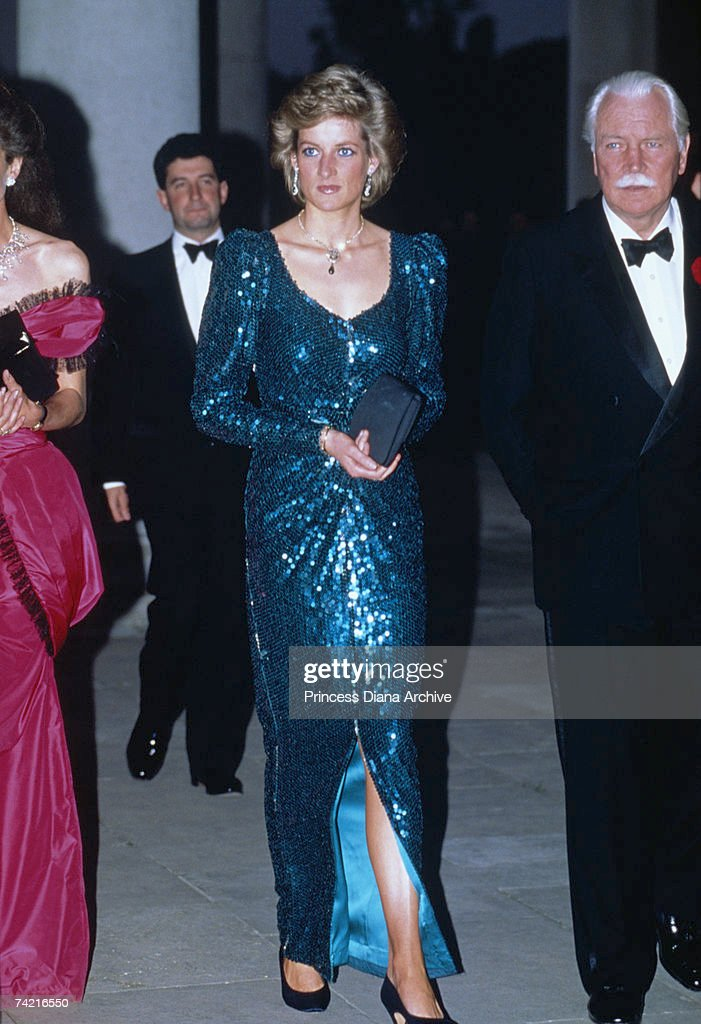 Diana In Middlesex : News Photo