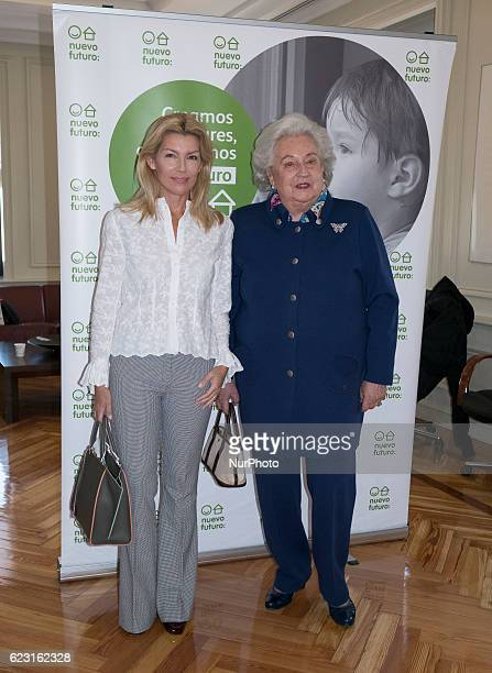 The princess Pilar de Borbon and Patricia Rato attended the presentation of the Rastrillo Nuevo Futuro to be held from 19 to 27 November in Madrid...