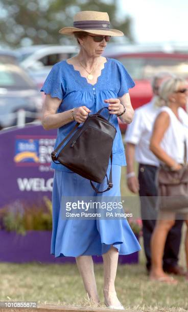 The Princess Royal at the Festival of British Eventing at Gatcombe Park Gloucestershire