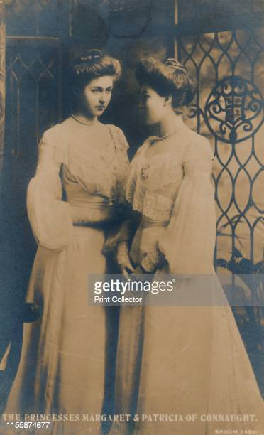 The Princesses Margaret Patricia of Connaught' circa 1900 Portrait of Princess Margaret of Connaught and her sister Princess Patricia of Connaught...
