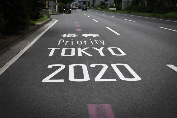 JPN: Drivers Face Traffic Gridlock As Olympic Games Continue
