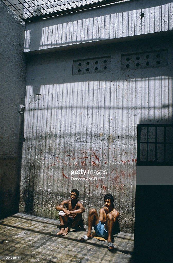 The Prison Of Children In Brazil - : News Photo