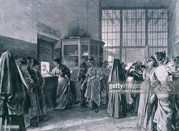 The prison of SaintLazare in Paris where in 1917 was imprisoned Mata Hari Dutch dancer accused of being a German spy France 20th century Paris Hôtel...