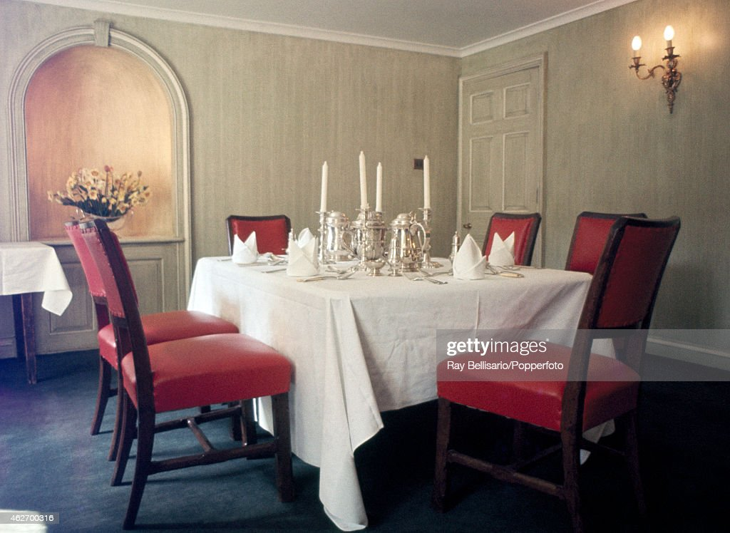 The Private Dining Room At Yew Court Trinity College Cambridge University  Which Prince Charles Attended Pictured
