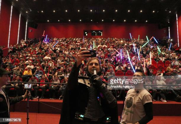 The private screening of ''Star Wars: The Rise of Skywalker'', held on December 20, 2019 in Istanbul, Turkey.