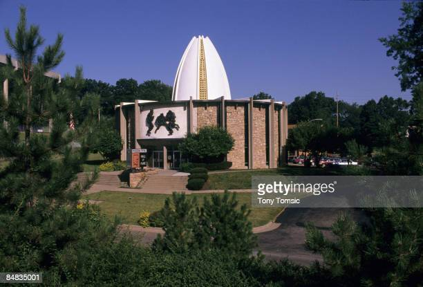 The Pro Football Hall of Fame in Canton Ohio