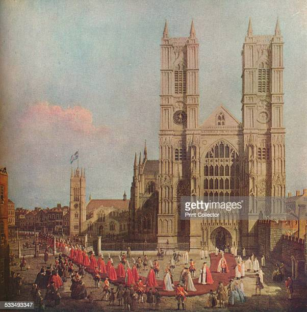 'The Procession of the Order of the Bath' Westminster Abbey London 1749 The Most Honourable Order of the Bath is a British order of chivalry founded...