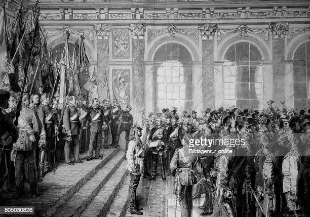 The Proclamation of the German Emperor German Empire 18 January 1871 at Versailles France