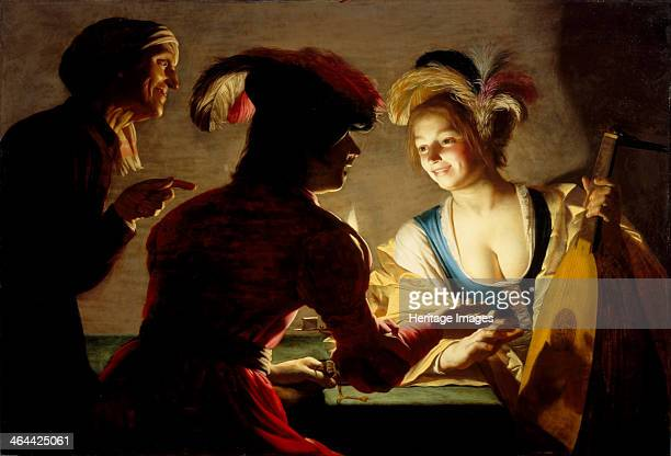 The procuress 1625 Found in the collection of the Centraal Museum Utrecht