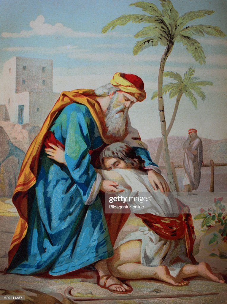 The prodigal son, biblical parable of the gospel of luke ...
