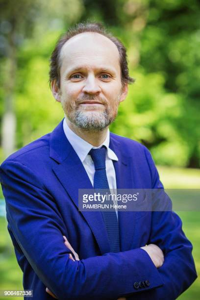 the producer and owner of Parisian theaters JeanMarc Dumontet is photographed for Paris Match on april 29 2017 in Paris France
