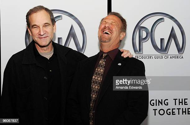 The Producers Guild of America President Marshall Herskovitz and Executive Director Vance Van Petten attend the Producers Guild Award Nominees...