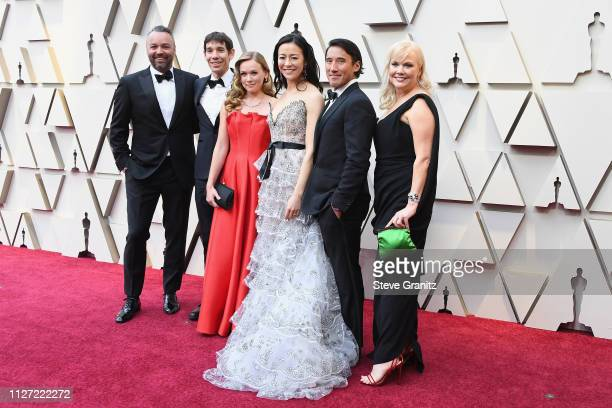 The producers of 'Free Solo' attend the 91st Annual Academy Awards at Hollywood and Highland on February 24 2019 in Hollywood California