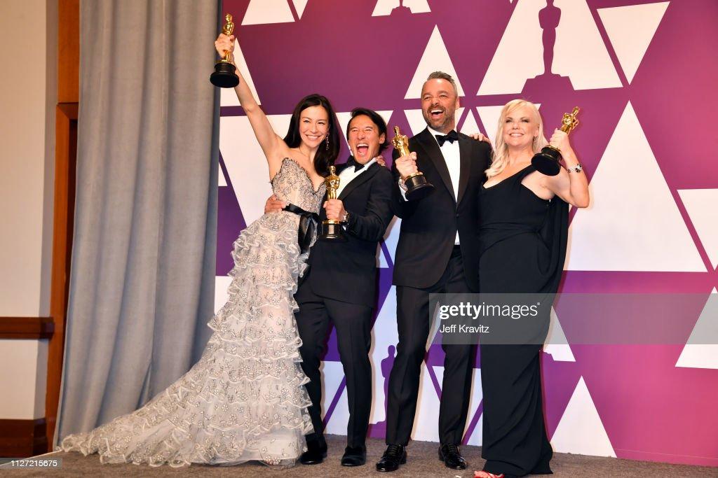 91st Annual Academy Awards - Press Room : News Photo