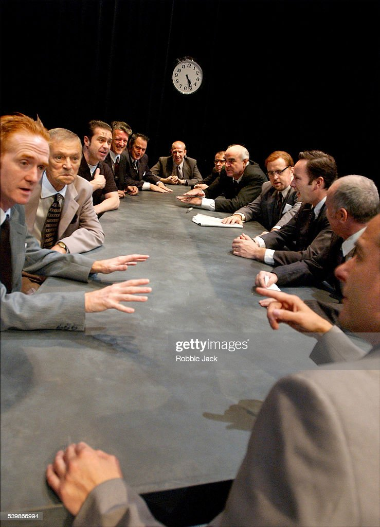 '12 Angry Men' On stage in Edinburgh : News Photo