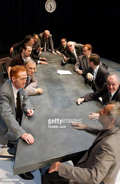 The Production '12 Angry Men' at the Assembly Rooms
