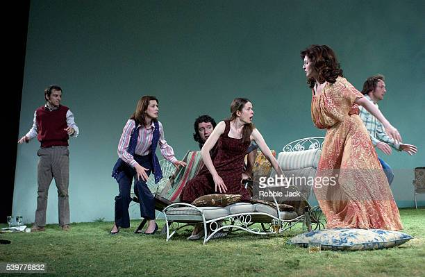 The production of Aristocrats at the Royal National Theater in London.