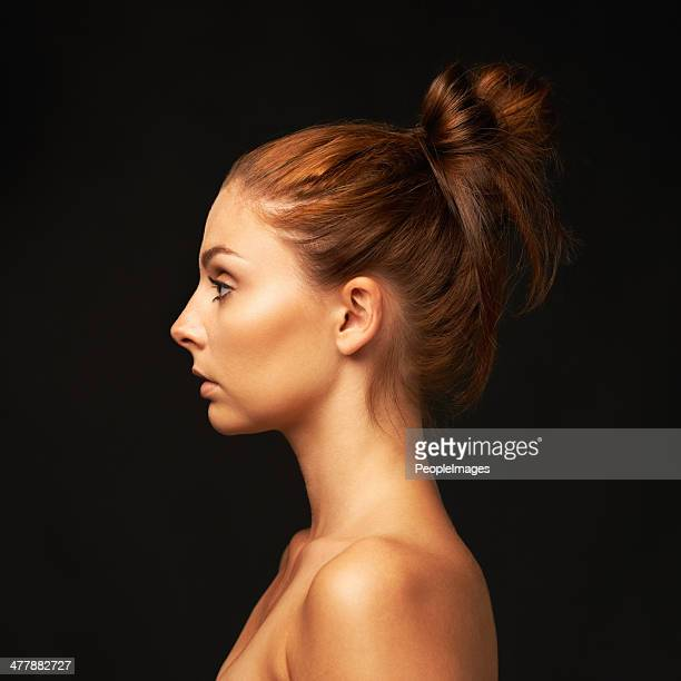 The profile of beauty