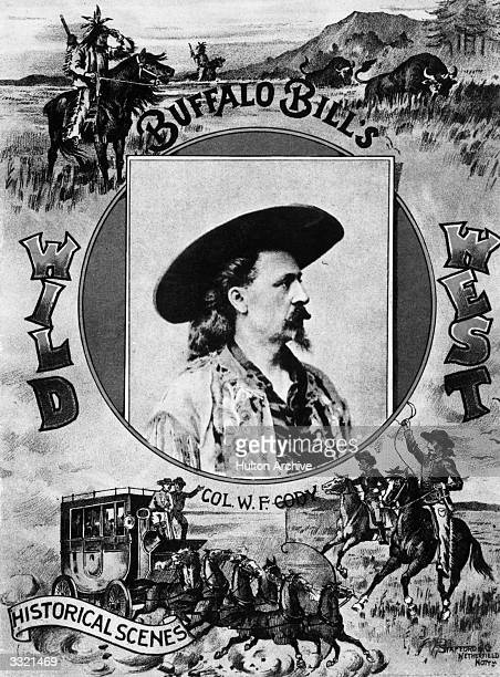 The programme for Buffalo Bill's Wild West show at Earl's Court London