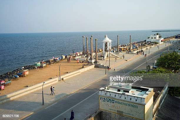 The promenade at Pondicherry India Pondicherry is a Union Territory of India and was a French territory until 1954 The French Quarter of the town...