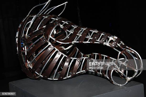 The prop from the current Equus from 2008 at The Broadhurst Theatre on November 12 2008 in New York City