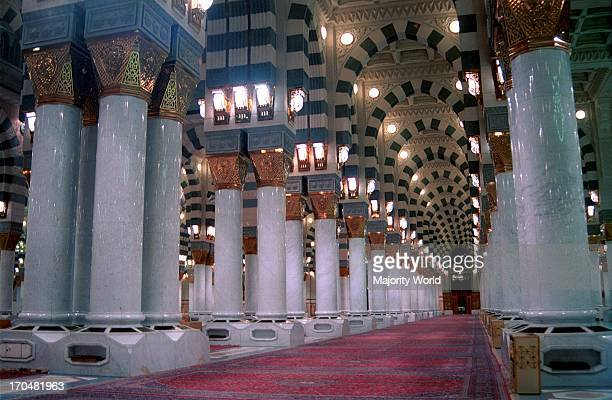 The prophet Mohammad great mosque in AlMadina city The grave of Prophet Mohammad is in this mosque and AlMadina is one of two major and holy cities...