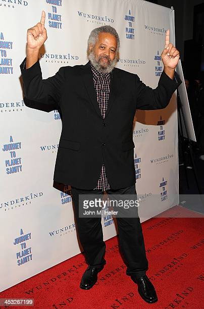 The Prophet Yahwah attends the Los Angeles Premiere of A Journey To Planet Sanity at the Laemmle Monica 4Plex on December 2 2013 in Santa Monica...