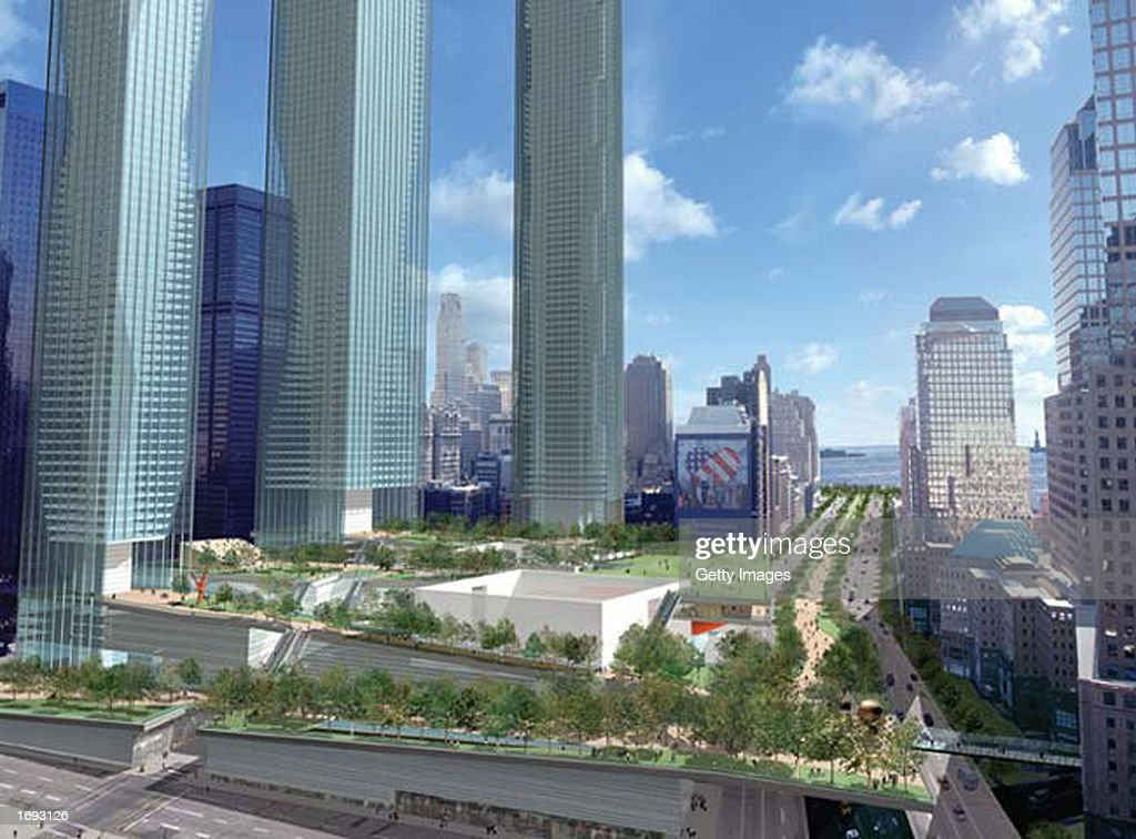 New Plans For World Trade Site Presented Pictures Getty Images