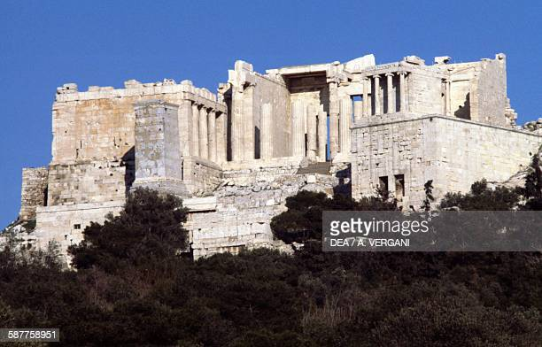 The Propylaea of the Acropolis Athens Greece Greek civilisation 5th century BC