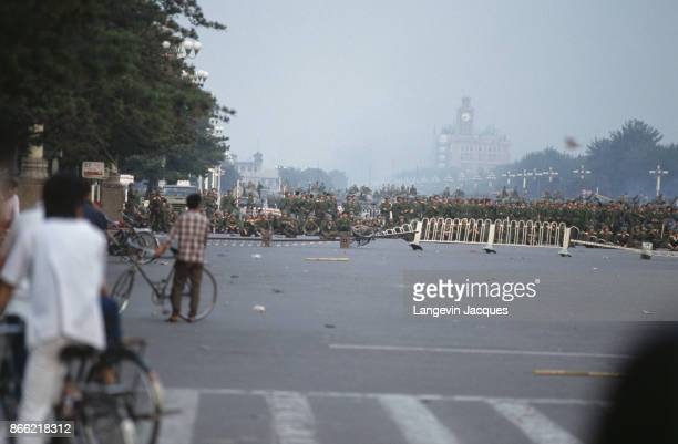 The protest movement of students that started seven weeks ago in Tiananmen Square ended in a blood bath with various sources claiming that between...