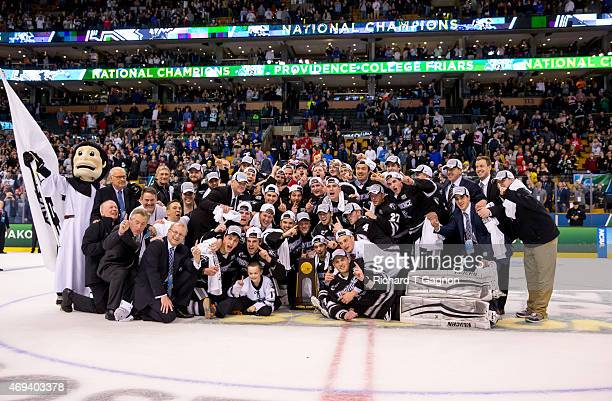 The Providence College Friars won the national championship 43 against the Boston University Terriers during the 2015 NCAA Division I Men's Hockey...