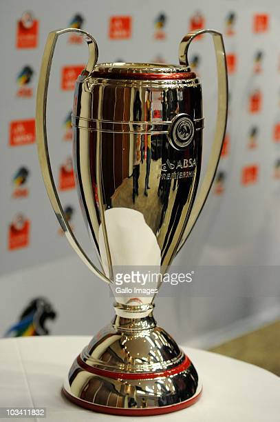 The PSL trophy sits on display at the launch of 2010/2011 PSL Season at Soccer City on August 16, 2010 in Johannesburg, South Africa. .