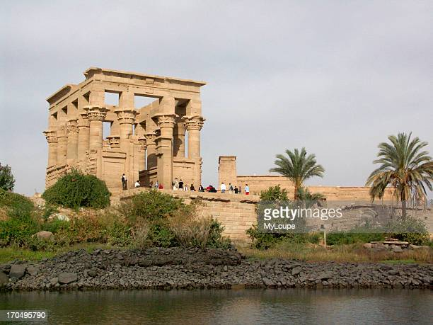 The Ptolemaic Temple Of Philae Was Moved From Its Original Location On Island Of Philae To Island Of Agilkia Over 8 Years Due To Flooding Caused By...