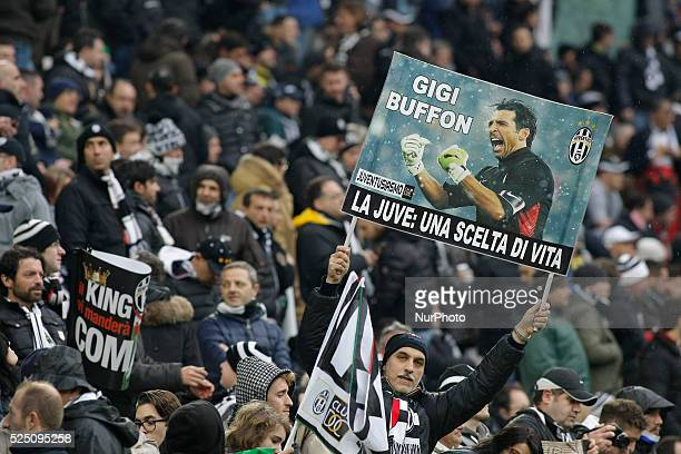 The public before the Serie A match between Juventus FC and Genoa CFC at Juventus Stafium on march 22 2015 in Torino Italy