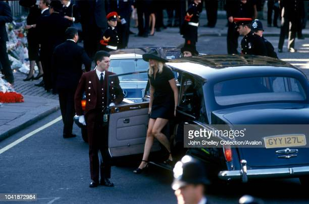 The public funeral of Diana Princess of Wales London UK 6th September 1997