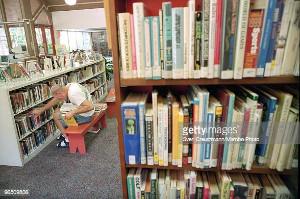 The Public Library in Coconut Grove which Gregory Hemingway visited frequently September 26 in Miami USA Gregory Hemingway son of fame American...