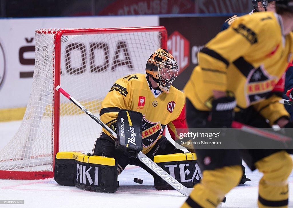 Djurgarden Stockholm v KalPa Kuopio - Champions Hockey League : News Photo