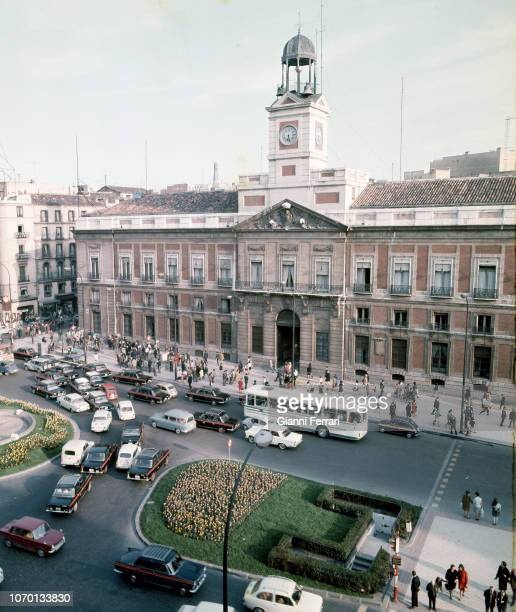 "The ""Puerta del Sol"" Madrid Spain"