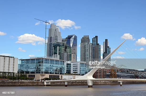CONTENT] The Puerto Madero waterfront development in Buenos Aires The Puente de la Mujer or 'Women's bridge' in the foreground Puerto Madero is the...