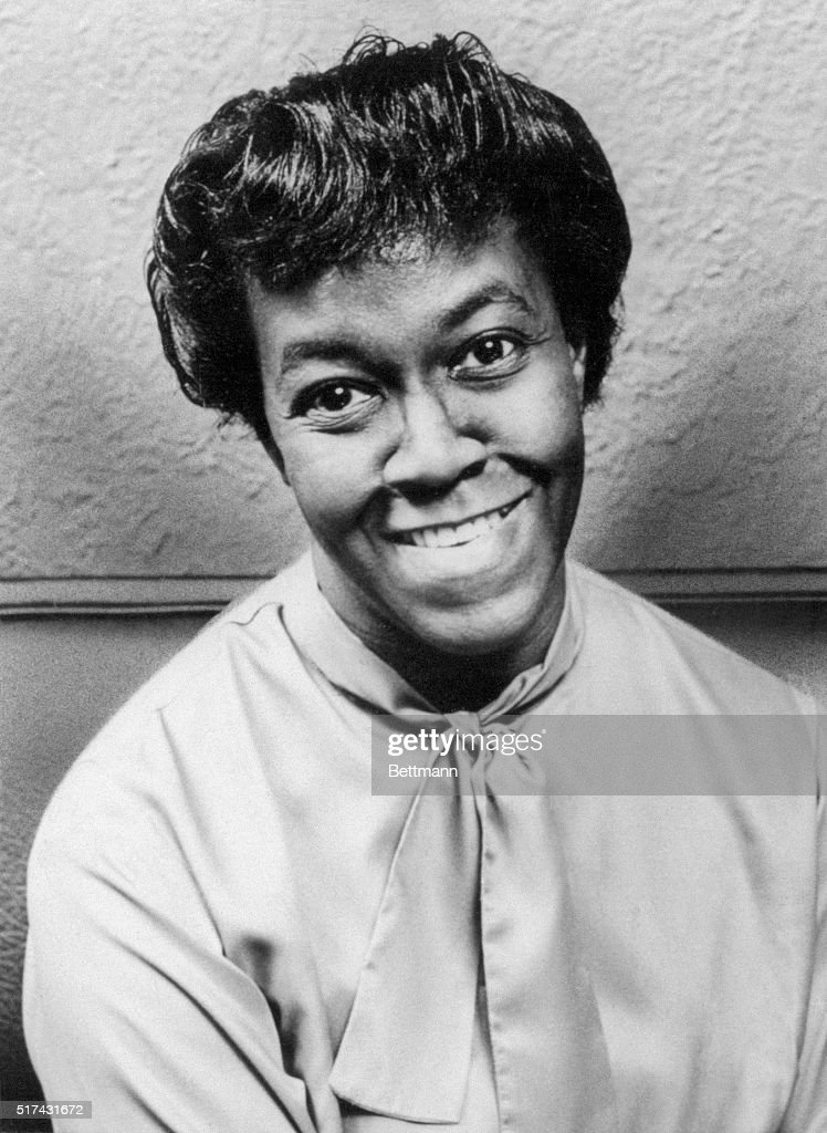 The Pulitzer Prize winning American poet Gwendolyn Brooks.