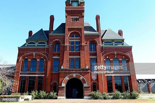 The Pullman Factory Site which has been designated as a Pullman National Monument photographed during the Chicago Architecture Foundation's 'Open...