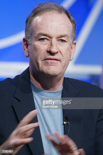 The Pulse correspondent, Bill O'Reilly at the FOX 2002 Summer TCA Tour, held at the Ritz Carlton Hotel, Los Angeles, CA, January 22, 2002. .