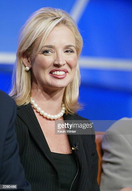 The Pulse correspondent Laurie Dhue with at the FOX 2002 Summer TCA Tour held at the Ritz Carlton Hotel Los Angeles CA January 22 2002