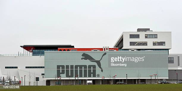 The Puma AG company headquarters are seen in Herzogenaurach Germany on Tuesday Feb 15 2011 Puma AG Europe's secondlargest sportinggoods maker...