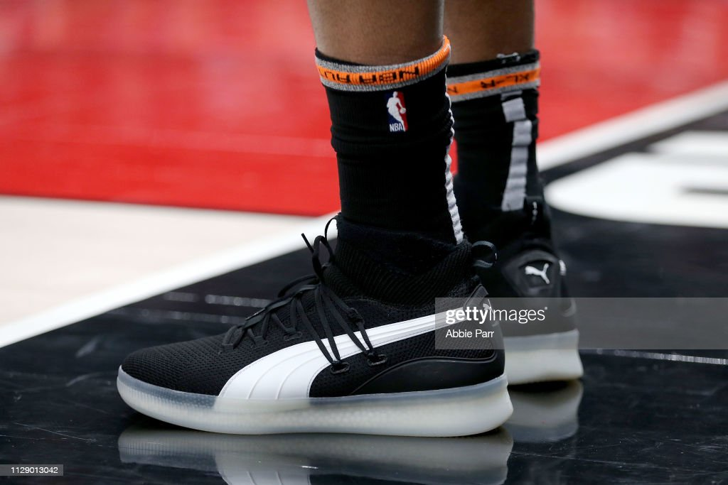 8317ea2f8ce The Puma shoes worn by Rudy Gay of the San Antonio Spurs during ...