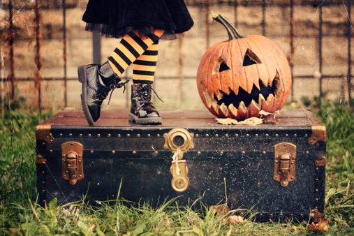 The Pumpkin Screams - gettyimageskorea