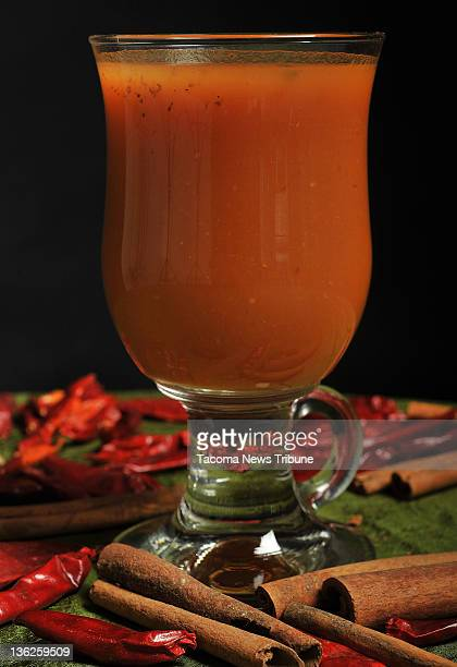 The pumpkin toddy at Tacoma Washington's Social Bar and Grill is made with equal parts pumpkin puree simple syrup and honey and finished with a shot...
