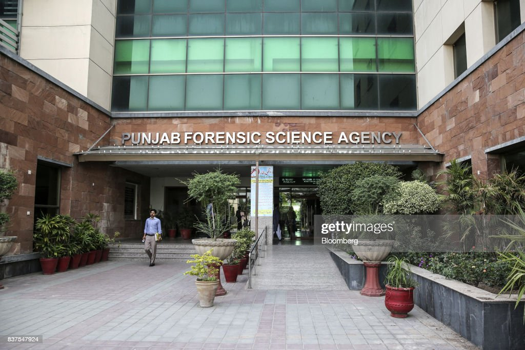 The Punjab Forensic Science Agency stands in Lahore Pakistan on Thursday June 15 2017 While militants the US identifies as terrorists find refuge in..