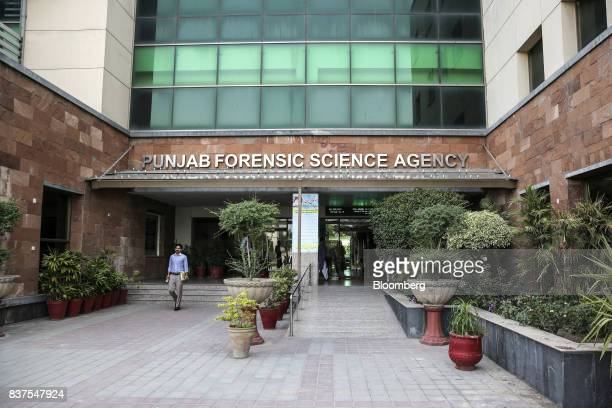 The Punjab Forensic Science Agency stands in Lahore Pakistan on Thursday June 15 2017 While militants the US identifies as terrorists find refuge in...